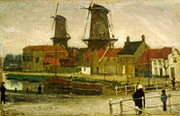 Matthijs Maris: A Corner of the Hague