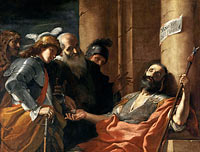 Mattia Preti: Belisarius Receiving Alms