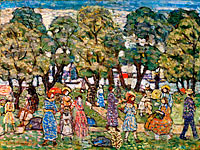 Maurice Brazil Prendergast: Under the Trees