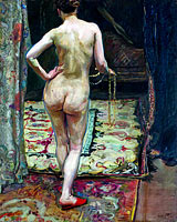 Макс Слефогт: Female Nude from the Back
