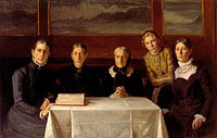 Michael Ancher: Christmas Day 1900