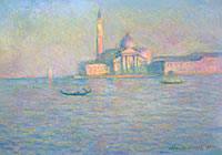 Claude Monet: The Church of San Giorgio Maggiore, Venice