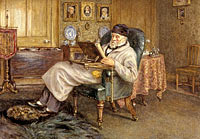 Mrs Helen Allingham: Thomas Carlyle, 1795 - 1881. Historian and essayist
