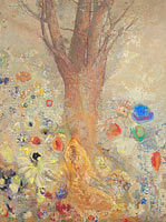 Odilon Redon: The Buddha (2)