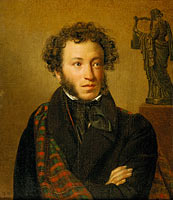 Orest Adamovich Kiprensky: Portrait of A.S.Pushkin