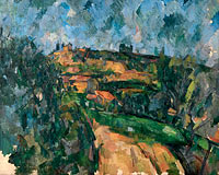 Paul Cézanne: Bend Of The Road At The Top Of The Chemin Des Lauves