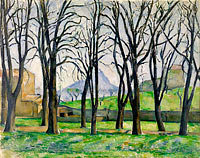 Paul Cézanne: Chestnut Trees at Jas de Bouffan