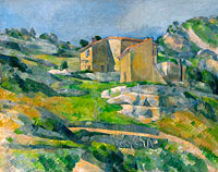 Houses in Provence: The Riaux Valley near L'Estaque