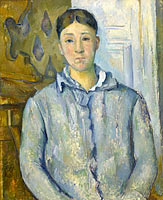 Madame Cézanne in Blue