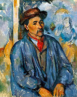 Man in a Blue Smock