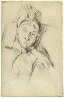 Portrait of Hortense Cézanne-Figuet, the Artist's Wife