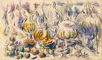 Paul Cézanne: Pot and Soup Tureen