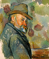 Paul Cézanne: Self-Portrait with a Hat (2)