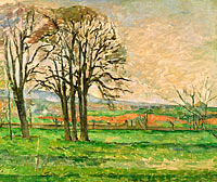 Поль Сезанн: The Bare Trees at Jas de Bouffan