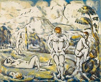The bathers (large plate) (2)