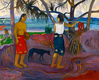 Paul Gauguin: Under the Pandanus II