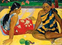 Paul Gauguin: Parau Api. What News