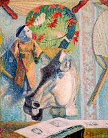 Paul Gauguin: Still Life with Horse's Head
