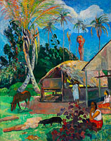 Paul Gauguin: The Black Pigs