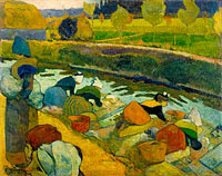 Paul Gauguin: Washerwomen