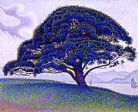 Paul Signac: The Bonaventure Pine