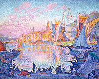 Paul Signac: The Port of Saint-Tropez