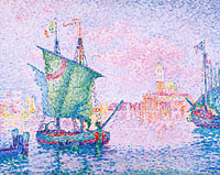 Paul Signac: Venice, The Pink Cloud, 1909