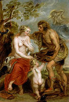 Peter Paul Rubens: Meleager and Atalanta