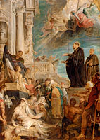 The miracles of St. Francis Xavier, Modello
