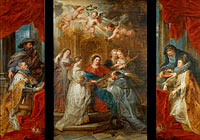 The Triptych of St. Ildefonso