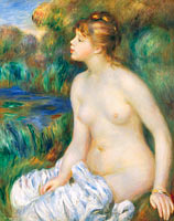 Unknown Painter: Bather