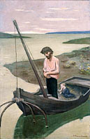 Pierre Puvis de Chavannes: The poor fisherman