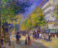 Pierre-Auguste Renoir: The Grands Boulevards