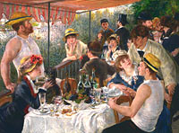 Pierre-Auguste Renoir: Luncheon of the Boating Party (6)