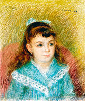 Пьер-Огюст Ренуар: Portrait of a Young Girl (Elisabeth Maître), 1879