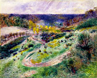 Pierre-Auguste Renoir: Road at Wargemont