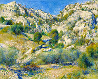 Pierre-Auguste Renoir: Rocky Crags at L'Estaque