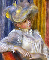Pierre-Auguste Renoir: Woman with a Hat