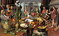 Pieter Aertsen: Christ in the House of Martha and Mary