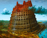 Pieter Bruegel the Elder: The Tower of Babel (2)