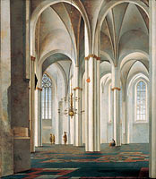Interior of the Buurkerk, Utrecht