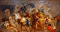 Peter Paul Rubens: Triumphal entry of Henri IV in Paris (march 22, 1594)