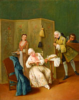 Pietro Longhi: The Indiscreet Gentleman