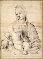 Madonna of the Pomegranate, c. 1504