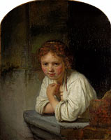 Girl at a Window (1)