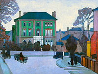 Robert Polhill Bevan: The green house, St John's Wood