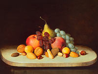 Robert S. Duncanson: Still Life with Fruit and Nuts
