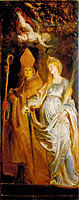 Saints Amandus and Walburga, Saints Catherine of Alexandria and Eligius