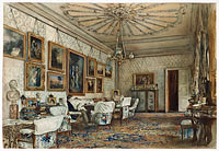Salon in the Apartment of Count Lanckoronski in Vienna