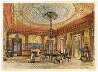 The Japanese Salon, Villa Hügel, Hietzing, Vienna